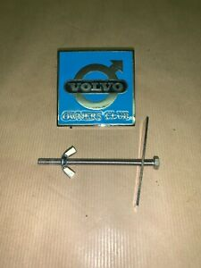 VOLVO OWNERS CLUB GRILL BADGE