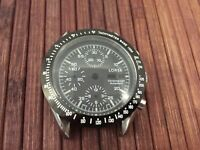 LORSA watch case and dial for ETA Valjoux 7750 swiss made movement - tachymeterl