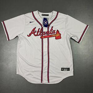 100% Authentic Freddie Freeman Nike Braves Jersey Size L 44 Mens