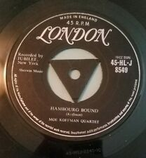 Moe Koffman Quartet 45 Swingin' Shepherd Blues / Hambourg Bound London UK vg+