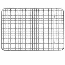 """Hamilton Housewares 10"""" X 15"""" Stainless Steel Cooling Rack - Lot of 2"""