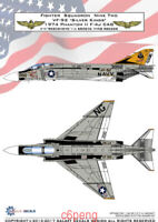 GALAXY Model G48013 G72013 1/48 /172 Scale F-4J VF-92 Silver Kings 1974 Decal AA
