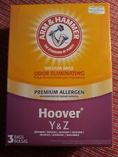 Arm & Hammer Hoover Type Y&Z Odor Eliminating Vacuum Bags 3 Bags