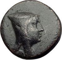 AMISOS in PONTUS 120BC Mithradates VI Quiver Authentic Ancient Greek Coin i64512