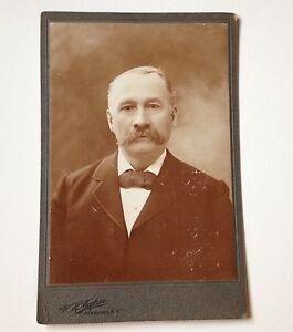 Cabinet Card Photo Newburgh NY ID'd Joe Mabie Antique W H Mapes Photograph