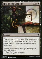 4x Rite of the Serpent | nm/m | Khan of tarkir | Magic mtg