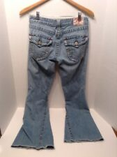 HOT distressed Destroyed True Religion Brand JOEY BIG T Jeans holey 28 x 31.5
