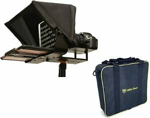 Glide Gear TMP100 Tablet DSLR Video Camera Teleprompter Kit 70/30 Glass OPEN BOX