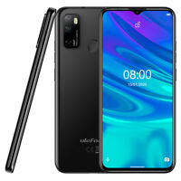 """Unlocked Smartphone 6.52"""" OctaCore Android10 Dual SIM 64GB 4G Cell Phone Face ID"""