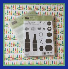 Stampin' Up! BUBBLE OVER Stamps & BOTTLES & BUBBLES Dies