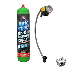 STP CAR AIR CON AIR CONDITIONING TOP UP REFILL RECHARGE REGAS KIT AUTO FREEZE