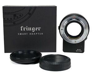 Fringer NF-FX Auto Focus Lens adapter Nikon F Lens to Fujifilm X-T4 X-T3 X-Pro3