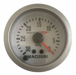 "Topex Racing Universal Car Vacuum Gauge 57mm 2.25"" For Automobiles"