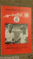 GUNFLASH - ARSENAL Football  Supporters Club Magazine Vol.28, No.271, SEPT 1976