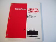 Mitsubishi Uahp High-Speed Processors User'S Manual - Used - Free Shipping