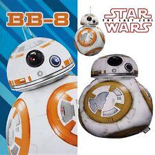 Star Wars BB-8 Cotton Beach Bath Towel & Filled Shaped Cushion Bundle Set