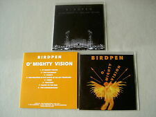 BIRDPEN job lot of 3 promo CDs O' Mighty Vision Archive We Are Bodies