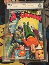 AQUAMAN #30 Not CGC CBCS 9.0 DEATH of SEA KING Justice League Batman Superman