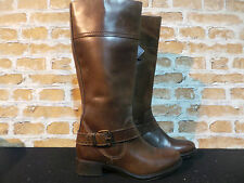 Ladies Lotus Leather Brown Knee Boots UK 4 EU 37 RRP £120 ONLY £35 NEW