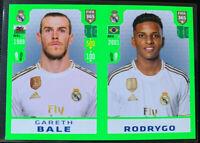 2020 FIFA 365 Panini Sticker Gareth Bale Rodrygo Real Madrid RC #113
