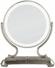ZADRO Polished Nickel Surround Light Dual Sided Glamour Vanity Mirror