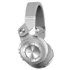 Bluedio T2 Plus Bluetooth Kopfhörer Wireless Headset mit Mikrofon,weiß