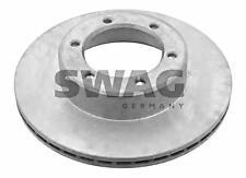 SWAG Brake Disc Front Axle x2 pcs Fits TOYOTA 4 Hilux Suv VW Taro 43512-35190