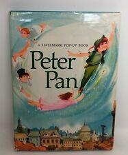 PETER PAN Hallmark Pop-up Book Vintage HB/DJ Jacket VGC