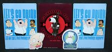 Family Guy TV Show Promo Man Cave Bar Metal Signs x3 2004