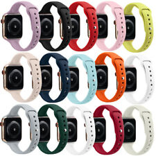 38/42mm Soft Band Loop Armband For Apple Watch Serie 4 3 2 1 Wrist Strap 40/44mm