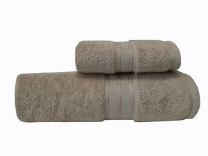 100% Combed Turkish Cotton Giant size Bath Sheets/ Hand towels 550 GSM 90 x180