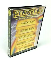 Commodore 64 Solid Gold Software's Greatest Hits CMB 64 / 128 5 Games Pack