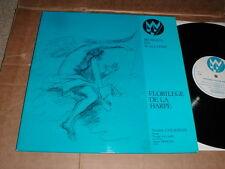 FLORILEGE DE LA HARPE Piano Violin 1975 France LP Yvette Colignon Classical M-