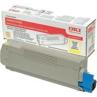original Toner OKI 43324421 gelb C5550 C5800 C5900 MFP  A-Ware
