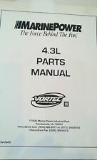 MARINE POWER - 4.3L PARTS MANUAL VORTEK GM
