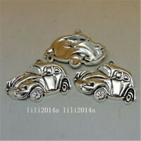 4pc Tibetan Silver CAR Charm Beads Pendant accessories Jewellery Making PL851