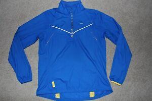 Womens Sz Medium Nike Livestrong Reflective Cycling Running Jacket Windbreaker