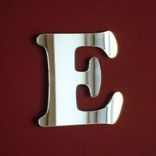 Funky Letter E Acrylic Mirror (Several Sizes Available)