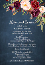 Budget Boho Wedding invitation