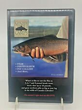 Coopers' Minipi Camps Labrador Fly Fishing Live Action Film Dvd (12 min)