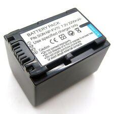 2.2Ah Battery For SONY HDR-PJ10 HDR-PJ10E HDR-PJ10V HDR-PJ20 HDR-PJ20E HDR-PJ20V