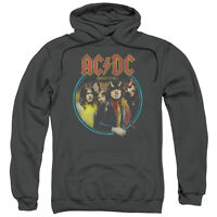 ACDC AC DC Rock Band HIGHWAY TO HELL Album Cover Licensed Sweatshirt Hoodie