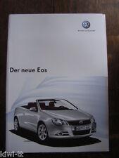 Volkswagen Der neue Eos Prospekt + Preisliste + Technische Daten, D, 9.2005
