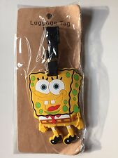 NEW Cute PVC Baggage Luggage SpongeBob SquarePants Cartoon Ship from U.S.