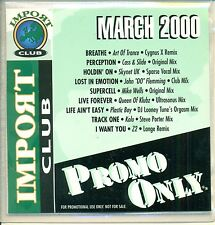 PROMO ONLY / IMPORT CLUB /  MARCH 2000