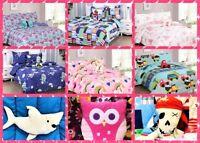 6PC TWIN BED IN BAG COMFORTER & SHEET SET KID TODDLER REVERSIBLE WARM ULTRASOFT