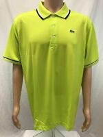 NWT Lacoste Sports Men's Ultra Dry Polyster Polo with ribbed collar, Sizes 4-8