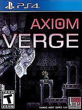 Axiom Verge (Sony PlayStation 4, 2017)