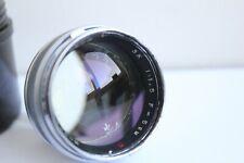 Zorki ZK lens 1.5 1,5/50 Russian Zeiss Opton Sonnar Contax