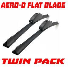 Fits Renault Laguna Mk1 94-01 - 24/18 Aero-D Flat Windscreen Wipers Blades Washe